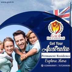 Get Australia Permanent Residency Easy Process Low Processing Fees Contact Our Experts : GSOI Educationals Easy Crafts, Crafts For Kids, Australia Visa, Permanent Residence, Phase 2, Corporate Flyer, Social Media Design, Study Abroad, Flyer Template