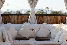 Riad Kheirredine a Marrakech Outdoor Furniture, Outdoor Decor, Marrakech, Lifestyle Blog, Bed Pillows, Pillow Cases, Home Decor, Pillows, Decoration Home