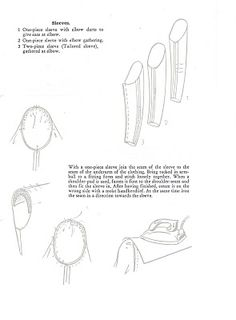 COME SEW LUTTERLOH WITH ME: sleeves the lutterloh way