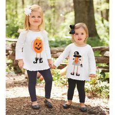 Pumpkin and Witch Tunics