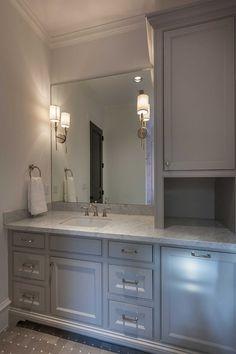 Bathroom Vanity With Linen Cabinet Bathroom Vanity With Linen Cabinet Ideas Bathroom Vanity With Linen Cabinet