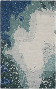 Safavieh Soho SOH706 Blue Multi Rug | Contemporary Rugs