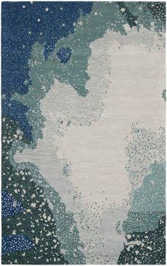 Safavieh Soho SOH706 Blue Multi Rug | Contemporary Rugs