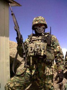 Fuerzas especiales marina armada de México