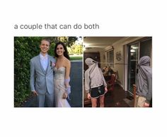 A true couple that can do both haha