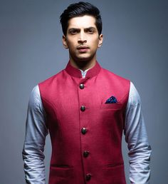 Inspired by the royalty of India, SS HOMME's Nehru Jackets for the modern Maharaja. Available in the brand's Mumbai studio