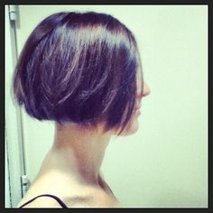 how to style a bob haircut bob with nape undercut my portfolio bobs 1696