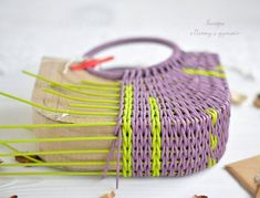 You can find a great variety of Raffia Yarn to make this item in my shop at www.AnnasGottaCrochet.com