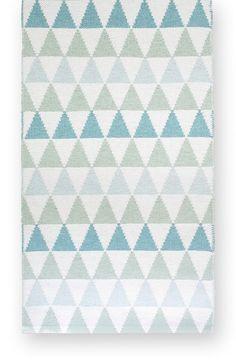 Tribus turquoise - Plastic rug 70x120cm