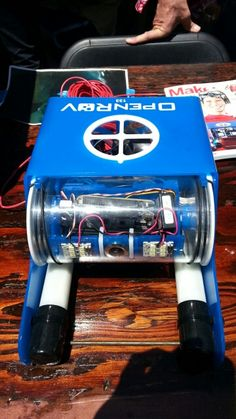 Under water yet out of this world! OpenROV featured at #MakerFaire using Atmel…