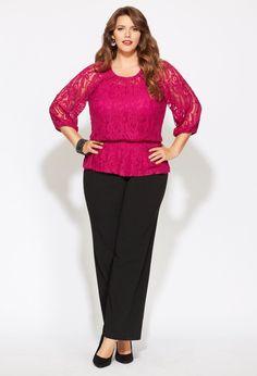 Plus Size Supreme Lace | Plus Size Outfits | Avenue #plussizepartyoutfit