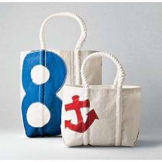 handmade bags made out of sails! seabags.com