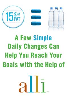 By making a few simple changes to your day-to-day life, like taking alli®, you can boost your progress on your weight-loss journey. alli® (orlistat 60 mg) is for weight-loss in overweight adults, 18 years and older, when used along with a reduced-calorie and low-fat diet. Follow label directions.