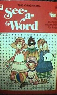 Ginghams Word Search Coloring Book