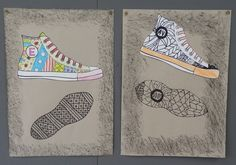 Anna idean kiertää!: Kevätmuotia zentangle-kuvioin Spring Art, Summer Art, 7th Grade Art, High School Art Projects, Art Curriculum, Middle School Art, High Art, Elements Of Art, Art Lesson Plans
