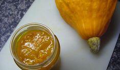 Jak připravit dýňovou marmeládu | recept Slovak Recipes, Kiwi, Preserves, Pickles, Peanut Butter, Pesto, Garlic, Cheesecake, Food And Drink