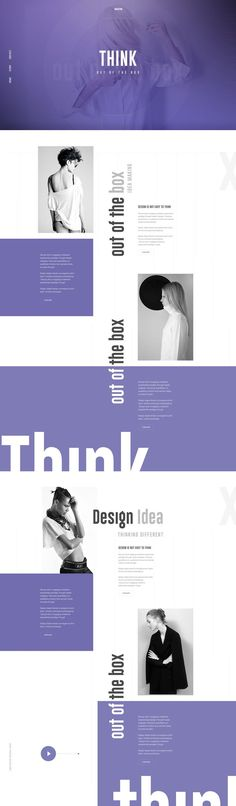 Another version copy Cool Minimalistic Clean Website Layout Design Inspiration UI UX Design