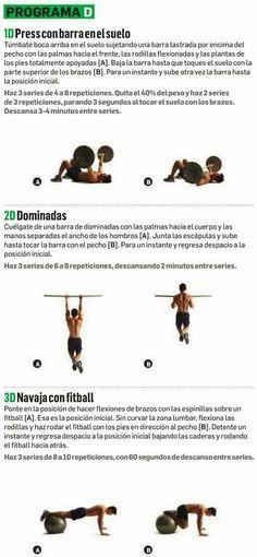 D ENTRENAMIENTO PARA PRESS DE BANCA | Aptitud Fitness
