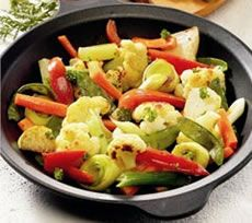 Mixed Vegetables with Sesame Seeds