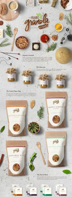 Organic granola food branding packaging on behance food and drink logo behance organic granola food branding packaging food and drink logo branding food and drink logo behance logo parodies volume 1 food and beverages food and drink logo behance Food Branding, Food Packaging Design, Brand Packaging, Branding Design, Coffee Packaging, Packaging Ideas, Organic Packaging, Fruit Packaging, Sugar Packaging