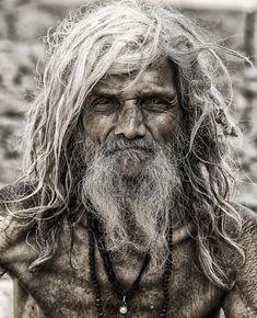 Pilgrim from Varanasi, India