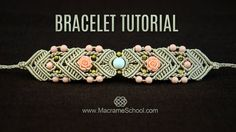Mirrored Macramé Bracelet TUTORIAL by Macrame School