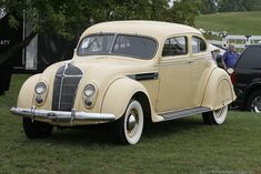 1936 Chrysler Imperial Airflow Gallery Learn about the 1936 Chrysler Imperial Airflow Chrysler Imperial, Chrysler Usa, Desoto Cars, Chrysler Airflow, Plymouth Satellite, Metal Shaping, Classic Cars, Classic Auto, Truck Design