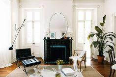 contemporary space, historic architecture