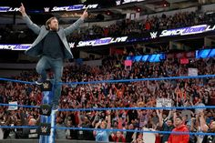 SmackDown LIVE General Manager Daniel Bryan addresses every one of his loyal fans after the incredible news that he will once again compete inside a WWE ring. Daniel Bryan, Cable Television, Rachel Maddow, Wrestling News, Stage Set, Wwe News, Wwe Photos, Cool Watches, Competition