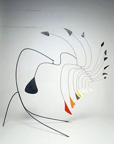 """""""My whole theory about art is the disparity that exists between form, masses and movement.""""                                 - Alexander Calder"""