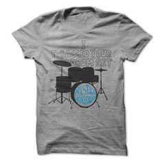 I T-Bagged Your Drum Set T-Shirt - #gift ideas #inexpensive gift. MORE ITEMS => https://www.sunfrog.com/Movies/I-T-Bagged-Your-Drum-Set-T-Shirt.html?68278