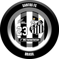DNZ Football Buttons: Santos FC