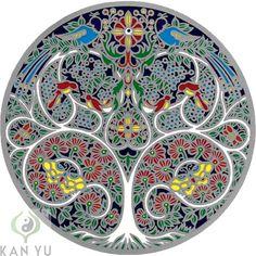 "Fensterbild ""Lebensbaum"", 7,60 €, KAN YU - Ihr Feng Sh"