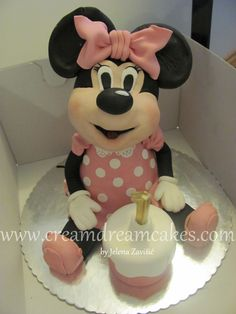 Minnie Mouse 3D Cake — Children's Birthday Cakes