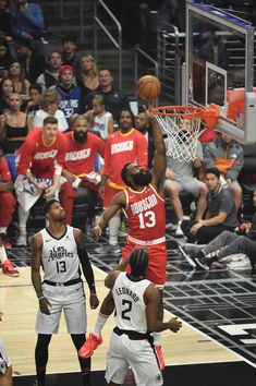 View photos for Photo Gallery: Rockets vs Clippers Mba Basketball, Basketball Players, Basketball Association, James Harden Rockets, Best Nba Players, Nba Pictures, Nba Fashion, Nba Memes, Basketball