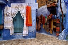 Color alley - Morocco