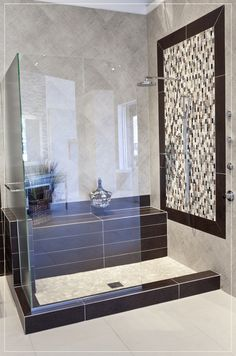 Plank Tile & Mixed Marble Mosaic