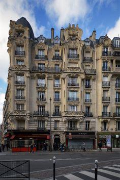 Stunning art nouveau building, Place Étienne Pernet, 75015 Paris