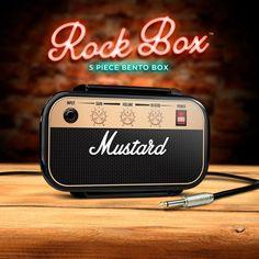 Mustard Rock & Roll Lunchbox