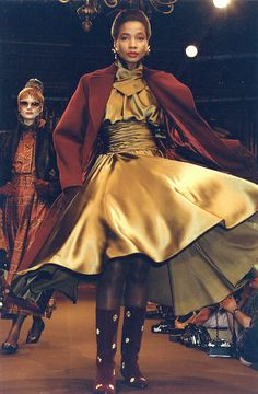 Christian Lacroix Haute Couture Fall-Winter 1988   Flickr - Photo Sharing!