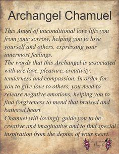 Archangel Chamuel. http://www.whisperingangels.co.za