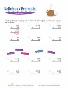 math worksheet : multiplying decimals worksheet  three digit by two digit with  : Math Worksheets 5th Grade Multiplying Decimals