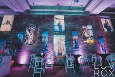 Lex and The City – Sara Renee Events- Love the gallery wall! Cute Bat, Lounge Decor, Cute Wedding Ideas, Bar Mitzvah, Event Ideas, Special Events, Cool Photos, Gallery Wall, Decor Ideas