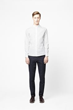 COS – Rounded collar shirt