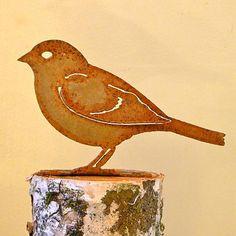 Elegant Bird Silhouette Sparrow