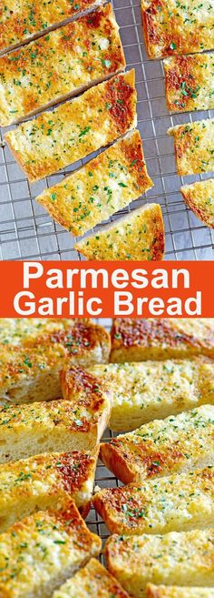 Parmesan Garlic Bread – Turn regular French bread into delicious, buttery parmesan garlic bread with this quick and easy recipe   rasamalaysia.com