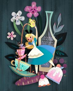 This weekend I will be releasing/signing this new piece at the Disney California Adventure Food and Wine Festival! Arte Disney, Disney Fan Art, Disney Love, Papercut Art, Brittney Lee, Images Disney, Quilled Paper Art, Pinturas Disney, Twisted Disney