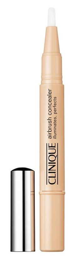 For an instant eye-brightening effect, apply Airbrush Concealer on the bone that circles the eye socket. Blend well.