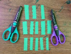 Kraft Edgers Scissors with construction paper: Use for hand strengthening, proprioceptive (awareness) input to hand, creative-self expression. Pinned by LegiGuide.com Proprioceptive Activities, Sensory Processing Disorder, Learning Through Play, Construction Paper, Occupational Therapy, Fine Motor Skills, Special Education, Scissors, Paper Art