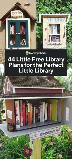 Little Free Library Plans, Little Library, Little Free Libraries, Library Signs, Library Books, Library Ideas, Toy Box Plans, Street Library, Mini Library